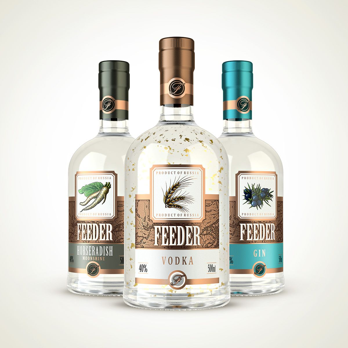 Russian Strong Alcoholic Beverages On Behance