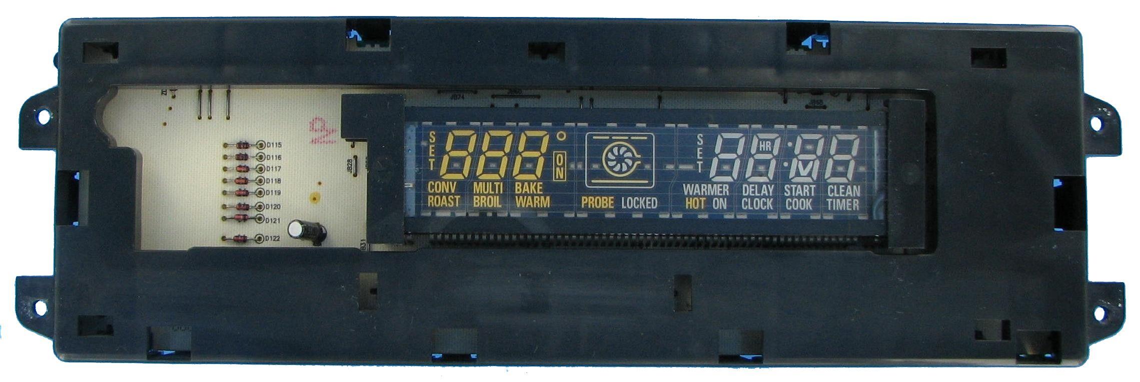 Ge wb27k10176 range electronic control board electric