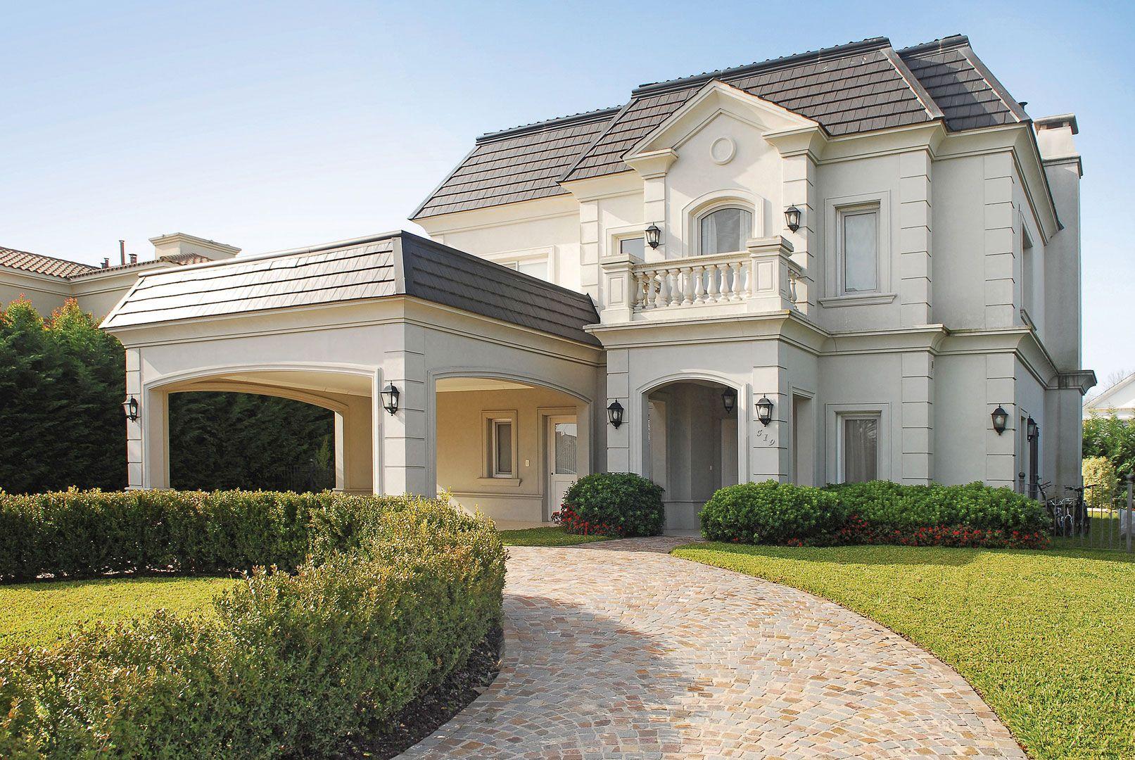 Fern ndez borda arquitectura ahmet house design for Fachadas de casas estilo clasico