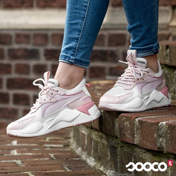 Puma RS X tracks Licht roze in 2019 | Shoe boots, Trendy