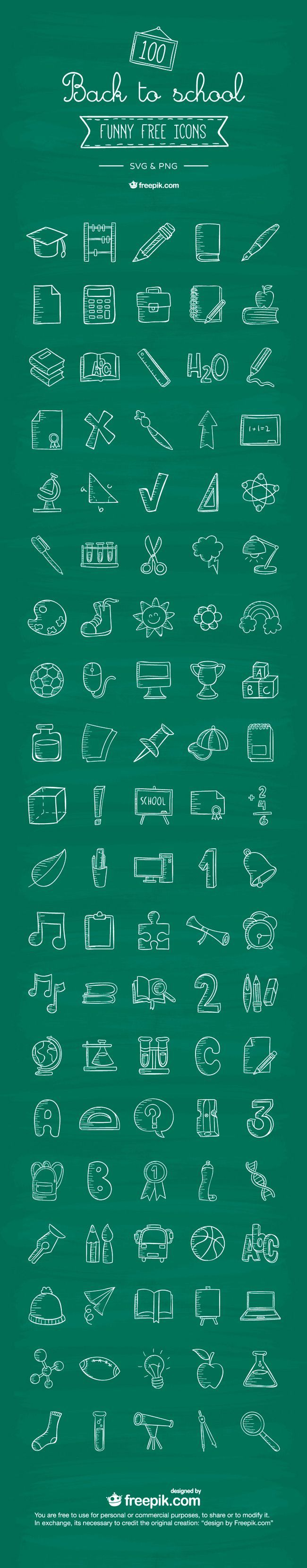 Free Download 100 Back To School Icons School icon