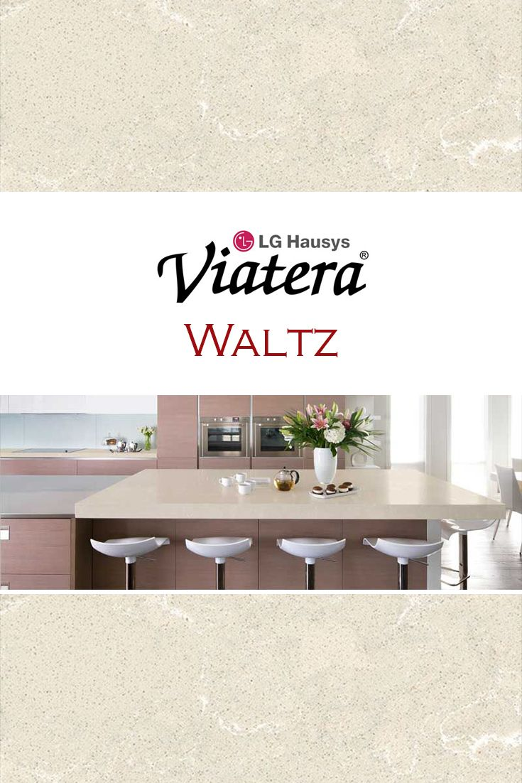 Waltz by LG Viatera is perfect for a kitchen quartz countertop ...