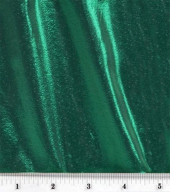 Tissue Lame Fabric-Green