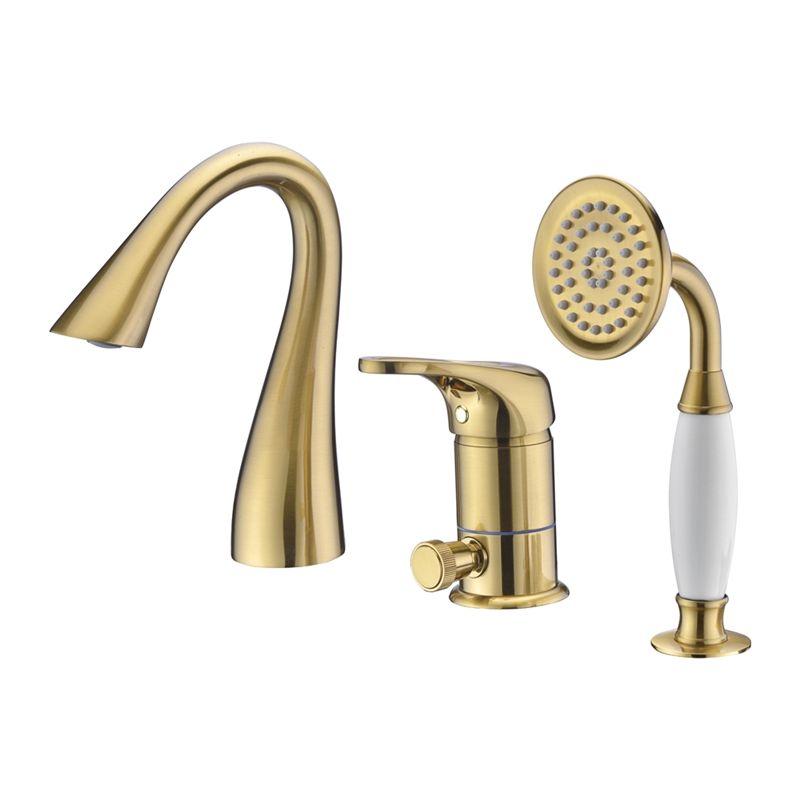 robinet de baignoire avec douchette