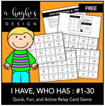 This Fun Active And Easy Relay Card Game Is Great For K 12 General Ed Efl And More I Have Various Set Number Games Student Encouragement Class Activities