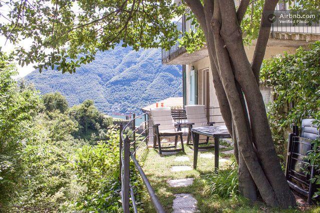 Garden (Cà de l'ori-Traditional lake house · Nesso, Lombardia 22020, Itália)