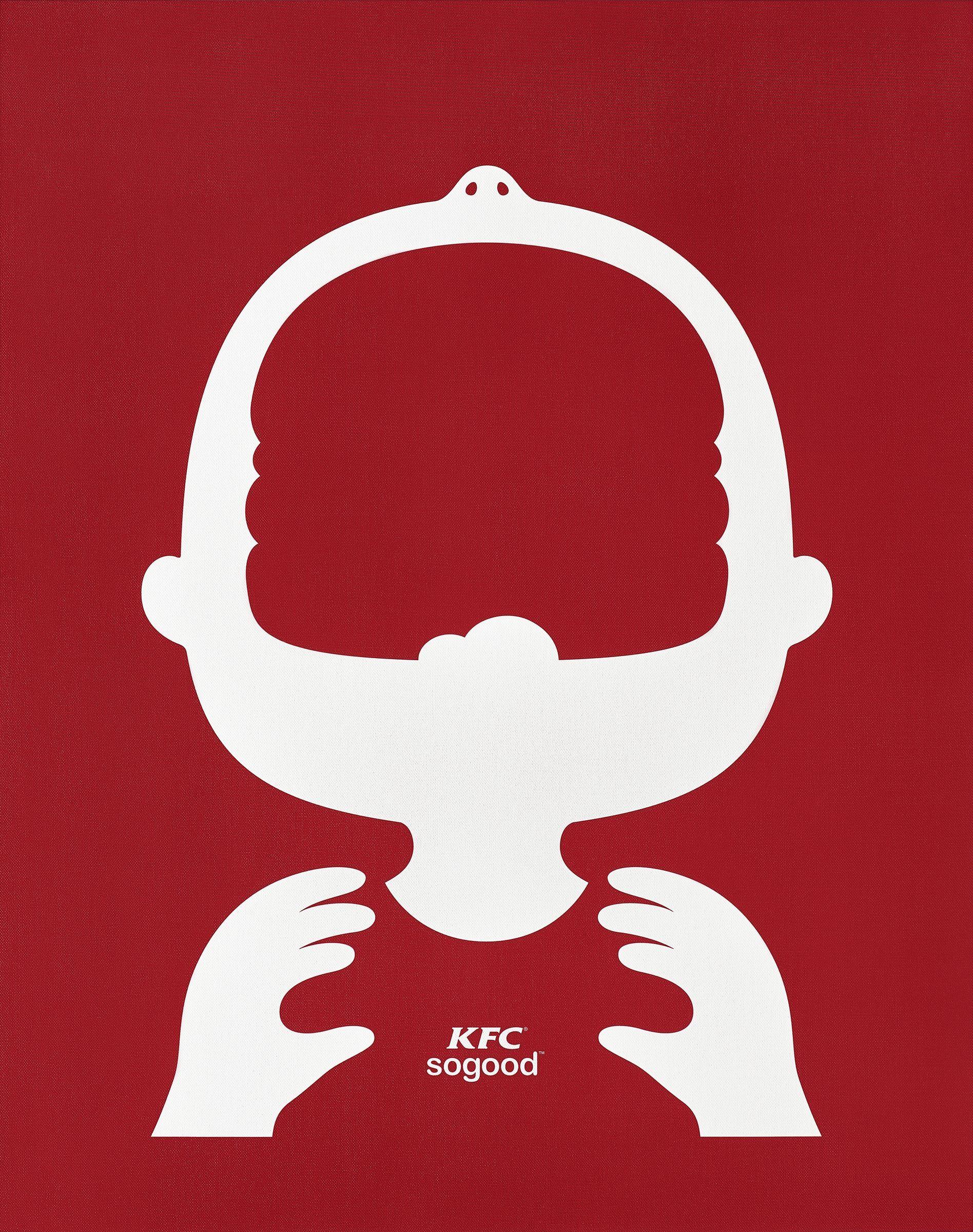 So Good | Creative Simple Illustration KFC Advertising ...