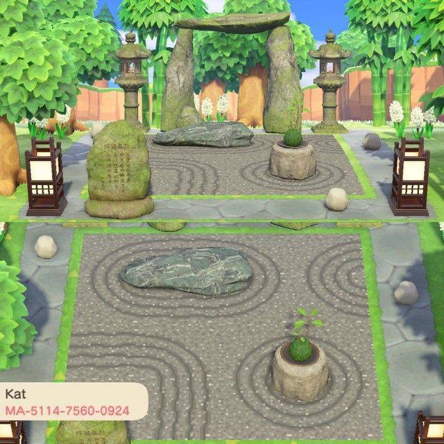 I made some gravel patterns for a zen garden ^^ they're ...