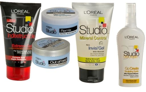 L Oreal Studio Hair Styling Products Loreal Hair Styles Loreal Paris