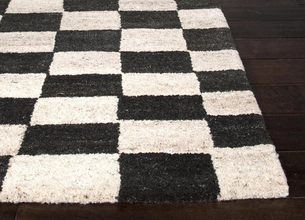 Amazing Black And White Checkered Rug