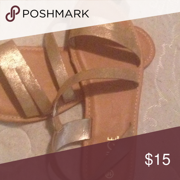 Gold glitter Sandal Very trendy Shoes Sandals