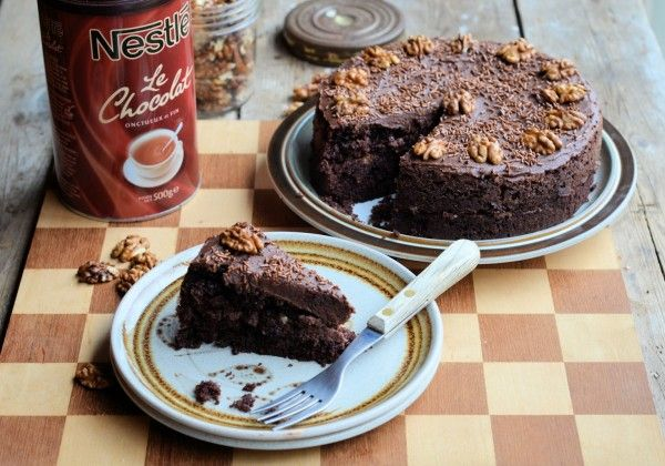 the famous drinking chocolate cake recipe recipe cake recipes chocolate cake recipe baking pinterest