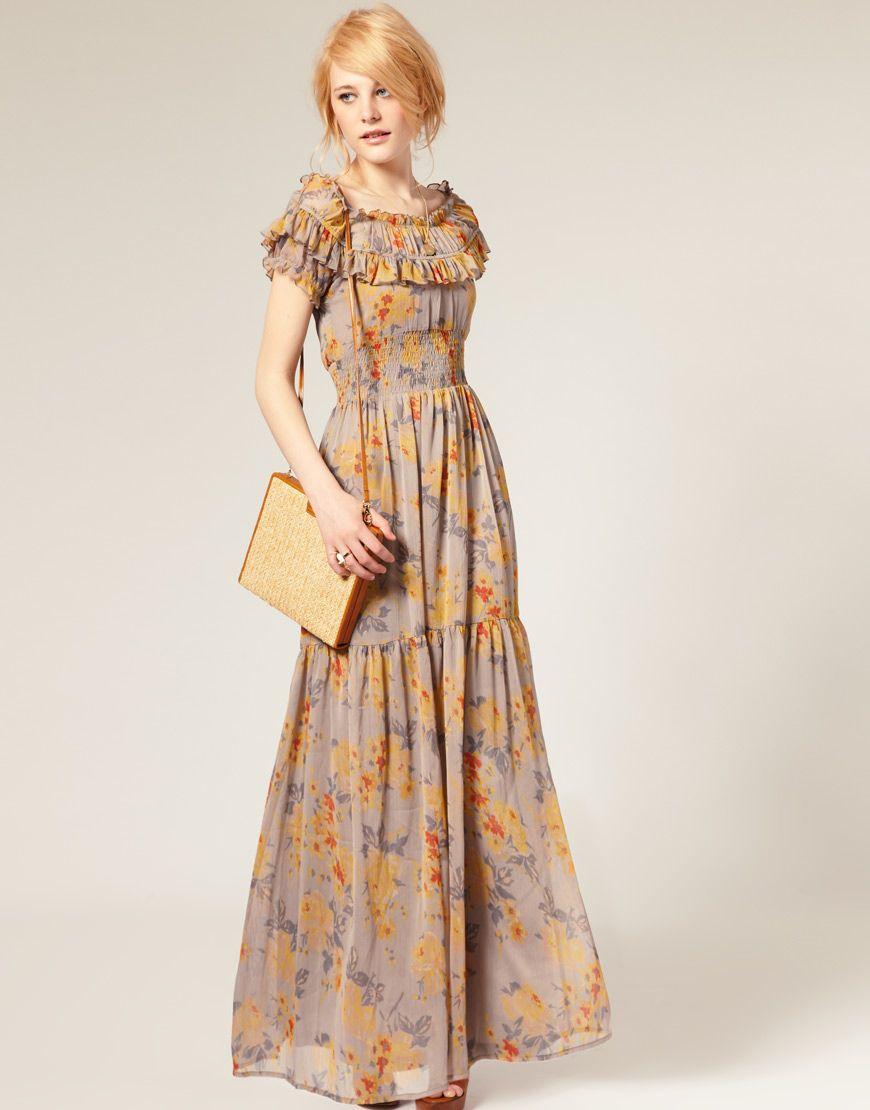 age 9 maxi dress unique