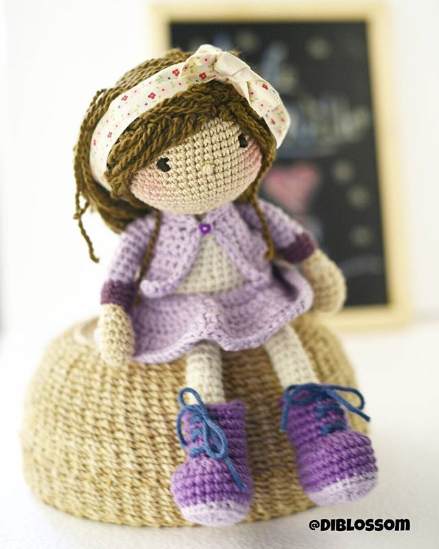 Crochet doll. ♥ (Inspiration).