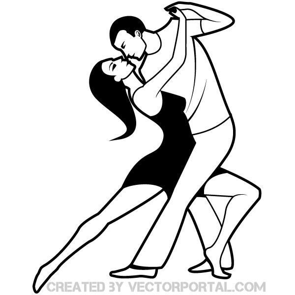 Dancing Couple Clip Art | Free Vectors | Pinterest | Dancing ...