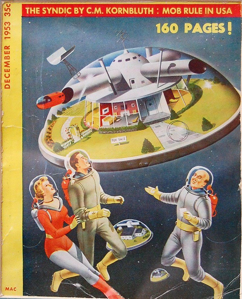 459 Best Retro Future Character Images On Pinterest: The Retrofuture Of Intergalactic Real Estate