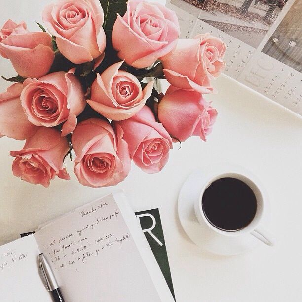 Please Can I Wake Up Every Morning With Coffee And Flowers Coffee Love Coffee Time Flowers