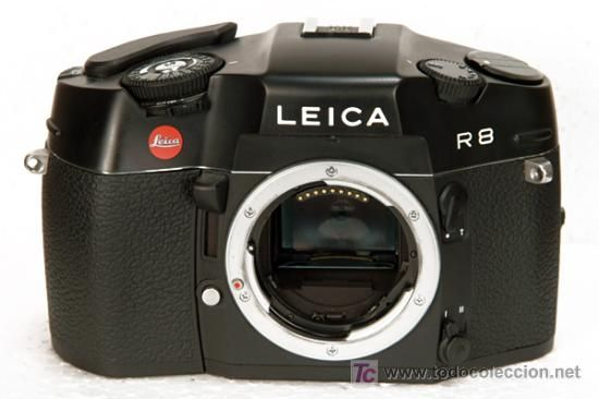 Cámara Leica negra sin usar / Cámaras antiguas en todocoleccion
