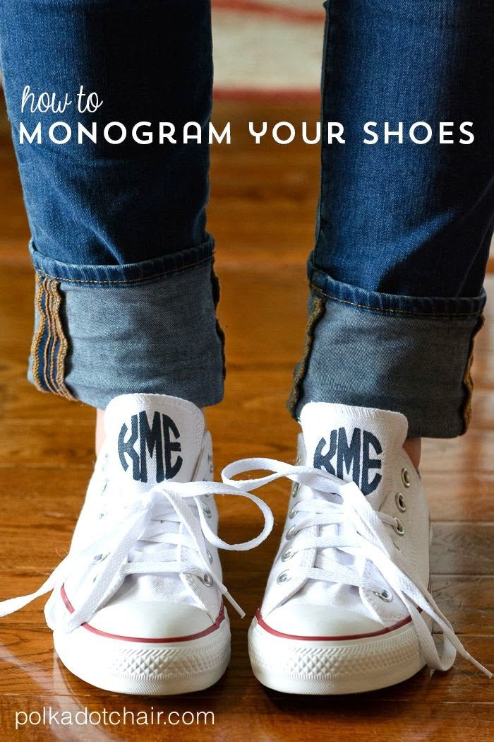 3765b8447da1 Best DIY Projects  Learn how to DIY your own monogrammed chuck taylor converse  shoes. A fun fashion DIY project for teens