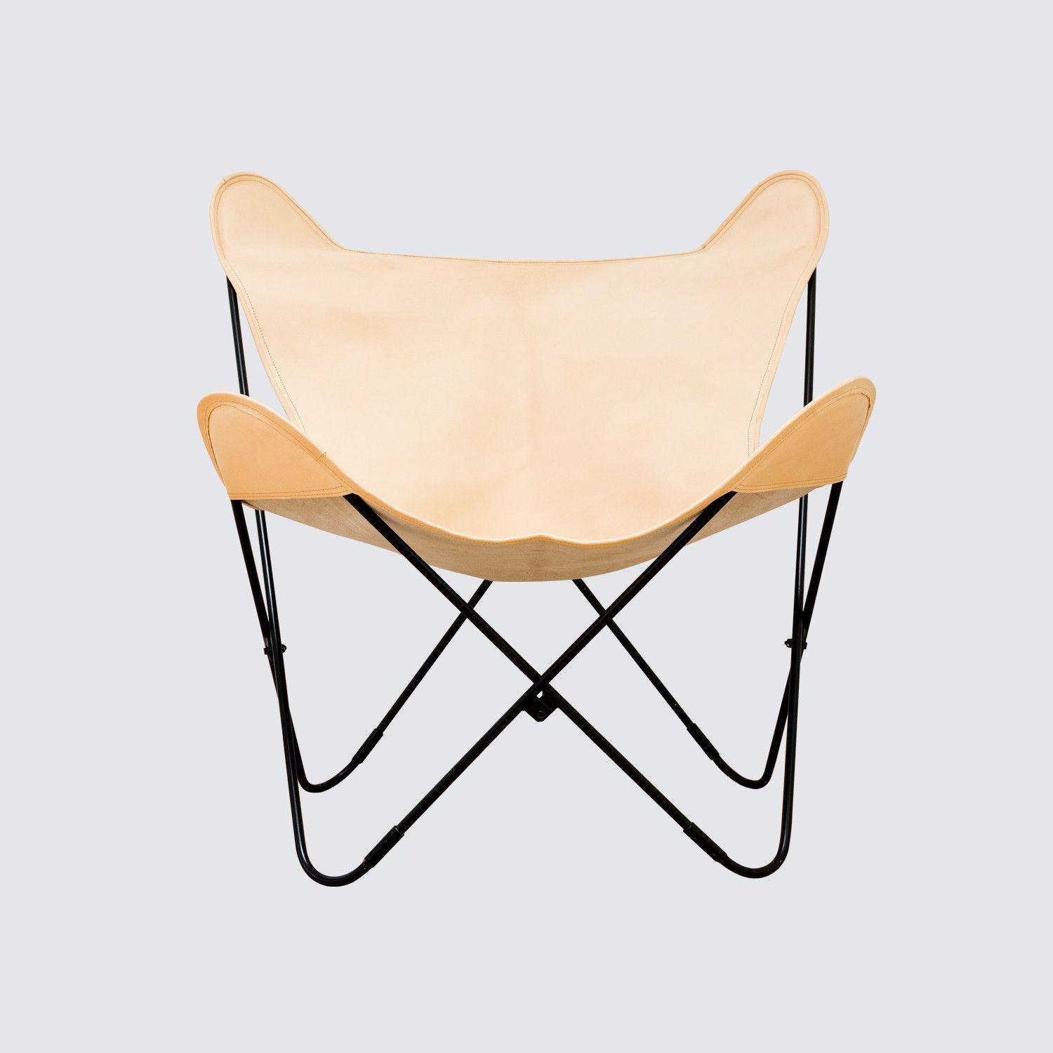 Palermo Chair - Black & Natural