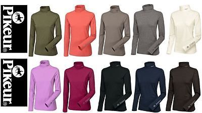 8172afe32efcfe Shirts and Tops 183366  Pikeur Sina Roll Neck Top With Long Sleeves Base  Layer -