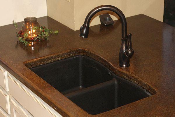 DIY Kitchen Concrete Countertop, Customer Photos - DirectColors ...
