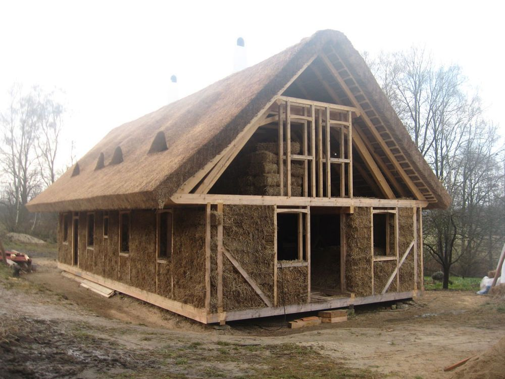 Strohhaus Kosten Zatepleno | Cob House In 2019 | Building A House, Straw