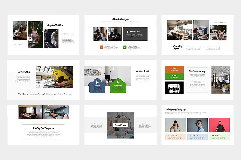 Hevera Coworking Space Keynote Presentation slides
