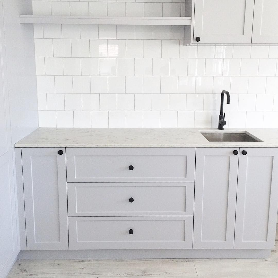 Bunnings Kitchens Design: She's Finished... And I Love Her #sneakpeek