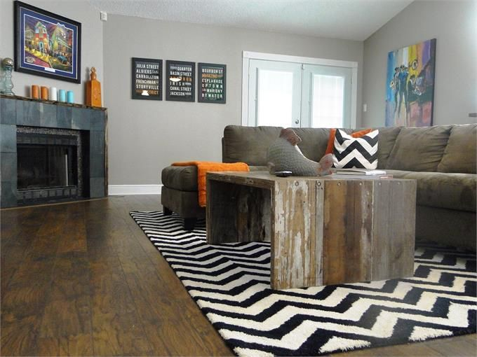 Eclectic Living Room Photo by AJM Design Build - Homeclick Community