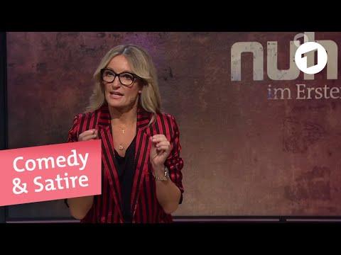 Monika Gruber Am 26 September 2019 Nuhr Im Ersten Youtube Spass Video Satire Gruber Monika