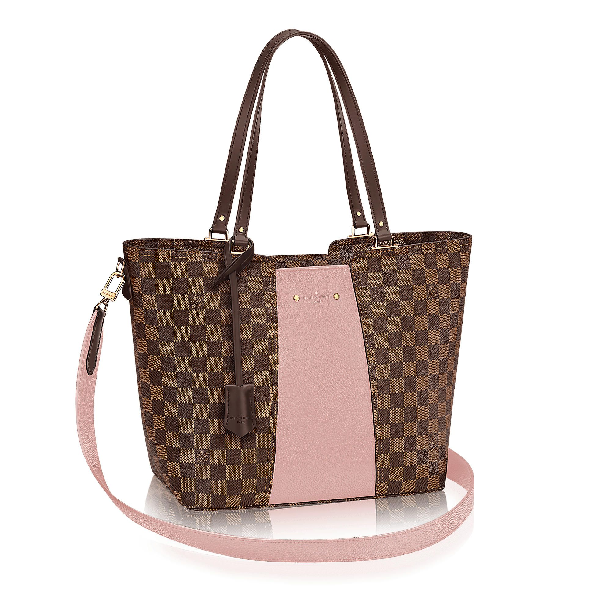 First Look Latest Lv Damier Ebene Canvas Jersey Bag 2017 New Collection Louis Vuitton Handbags