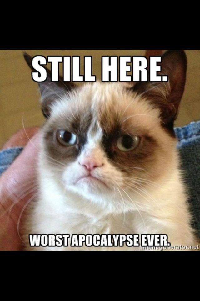 Worst apocalypse ever.