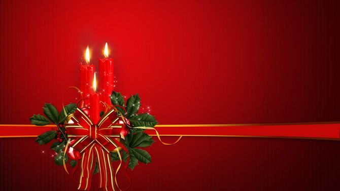 Powerpoint Templates On Christmas  Powerpoint Backgrounds