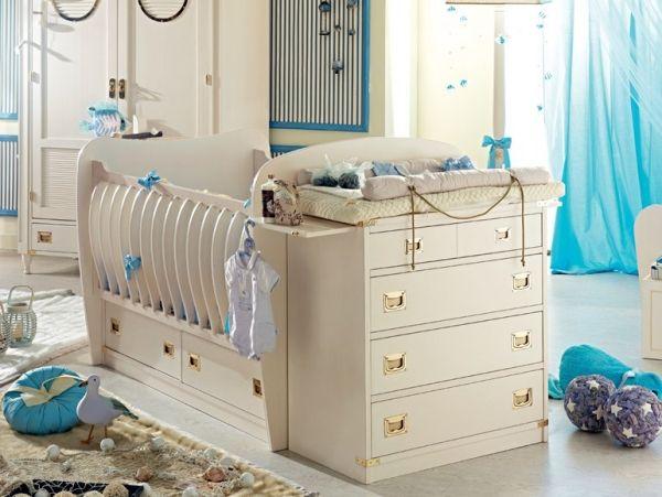 Luxus Babyzimmer Gestalten Für Jungen Kinderbett Goldelemente | De Cumpărat  | Pinterest