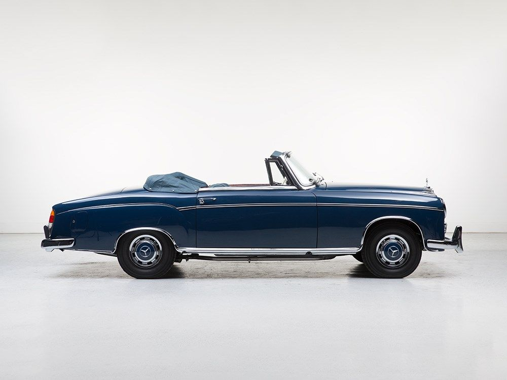 MERCEDES-BENZ 220 S Cabriolet, Model 1957