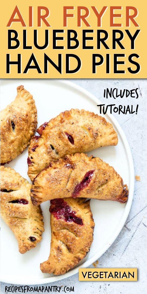 Air Fryer Blueberry Hand Pies sind köstlich, liebenswert und tragbar. Diese Blueb ... - #Air #Blueb #Blueberry #Diese #Fryer #Hand #köstlich #liebenswert #Pies #sind #tragbar #und #airfryerrecipes