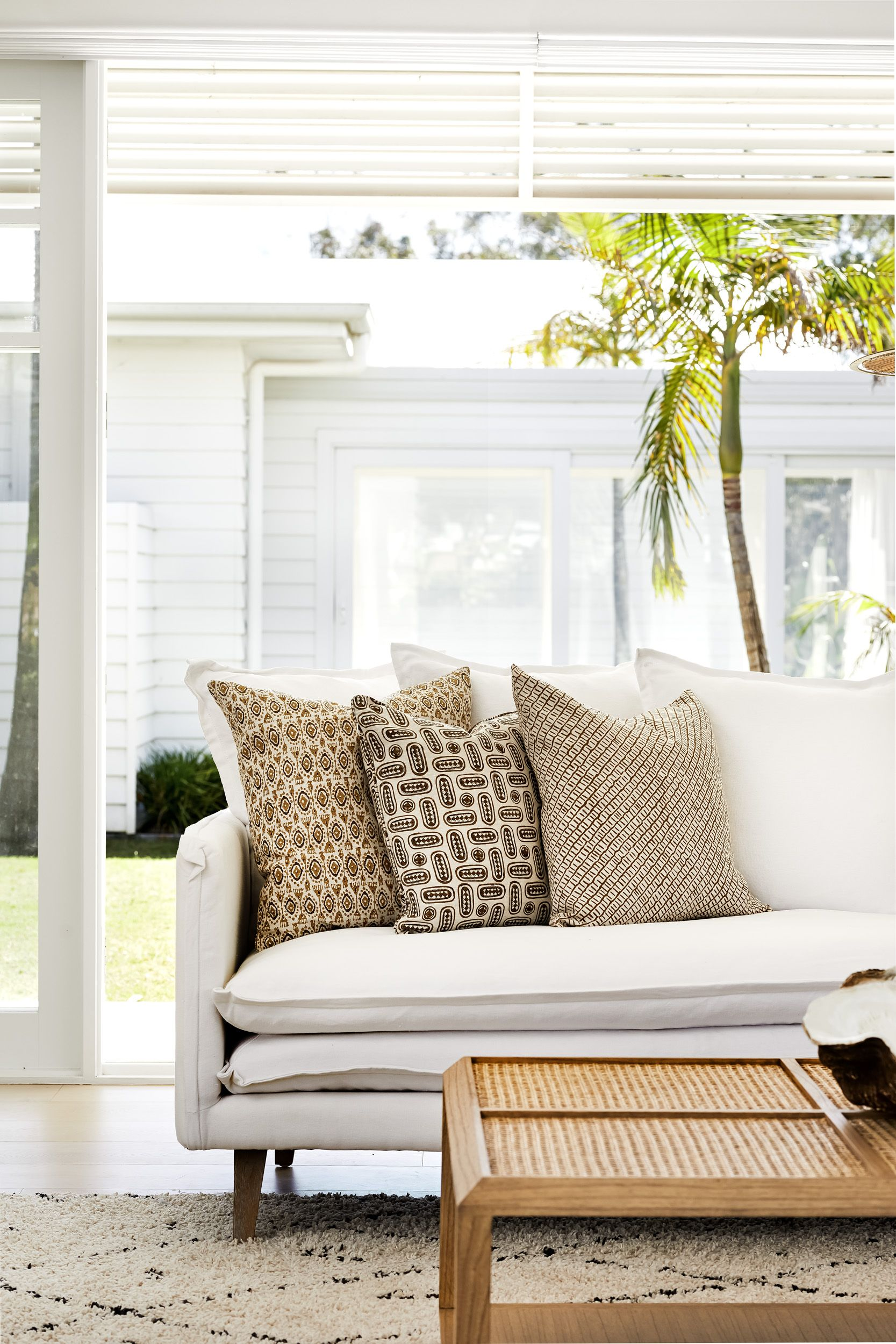 Can't go on a beach vacation this year?  Don't worry. With easy beach style furniture and decorating you can get all the ambience of a day at the beach without setting foot outside the house. It's an easy and versatile style that can be modified to suit any style of home.  Discover our essentials for coastal style interior online or visit our showrooms: www.lamaison.net.au  #lovelamaison#coastalinterior #livingroominterior #livingroomfurniture #coastalliving #sofadesign #coffeetable