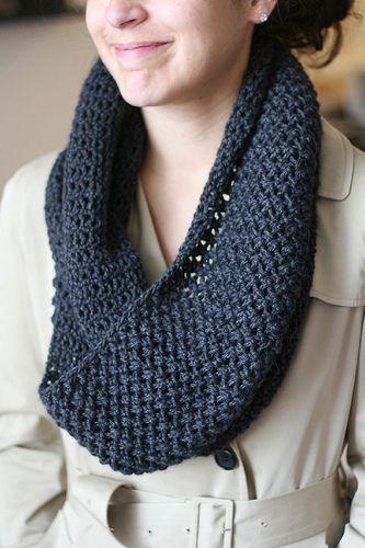 5th Avenue Knitting Crochet Pattern Pinterest Knit Cowl