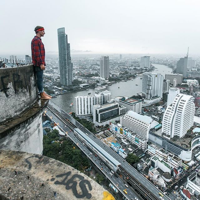 Lately Every Time I Visit Bangkok I Can't Help Climbing