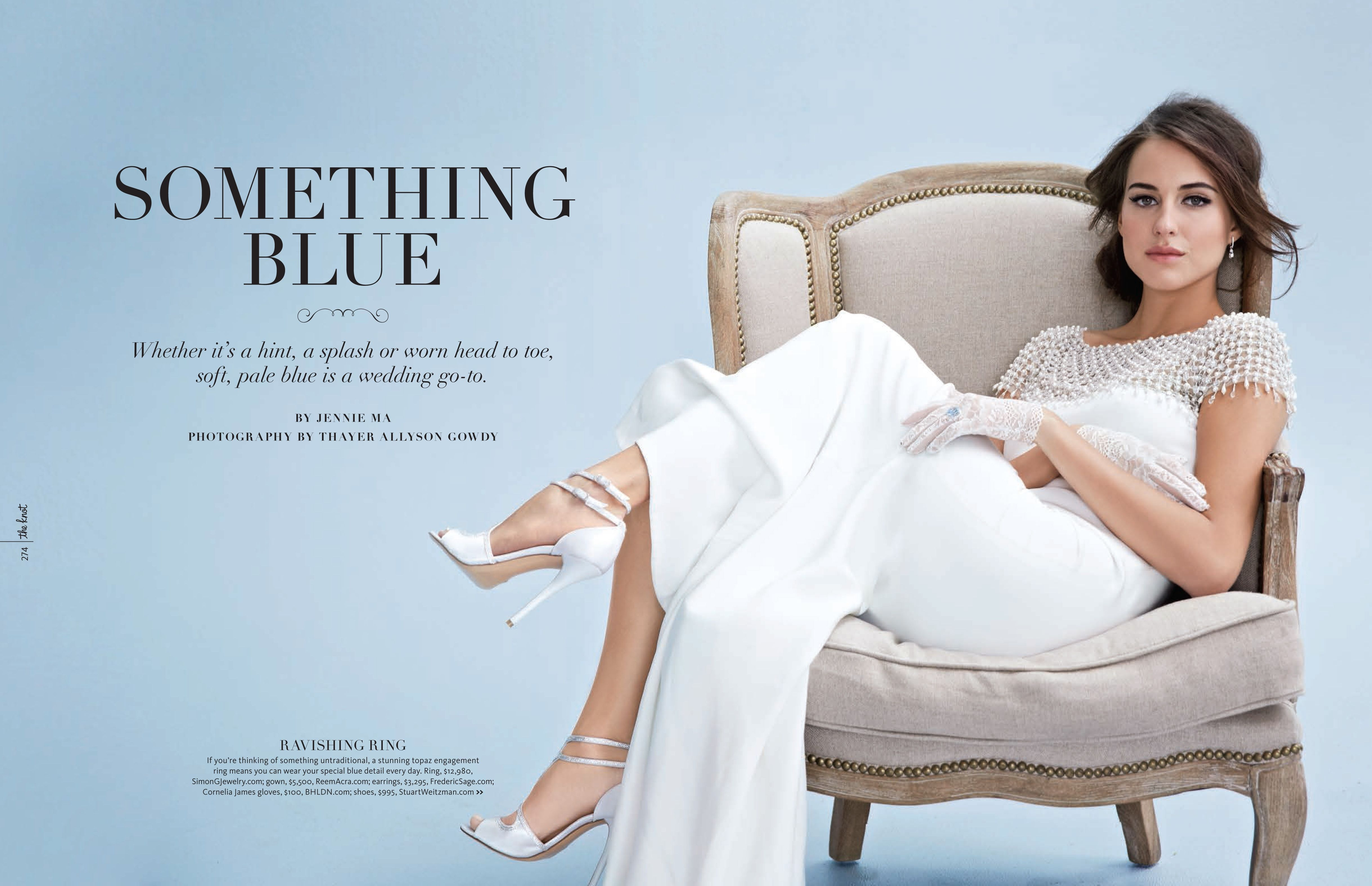 Something Blue, Love This! The knot wedding shop
