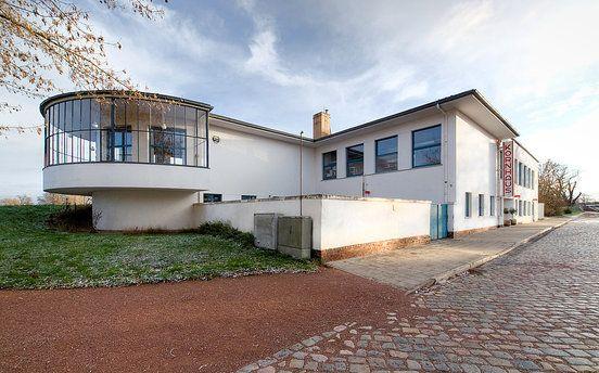 The Kornhaus by Carl Fieger : Kornhaus : Stiftung Bauhaus Dessau / Bauhaus Dessau Foundation