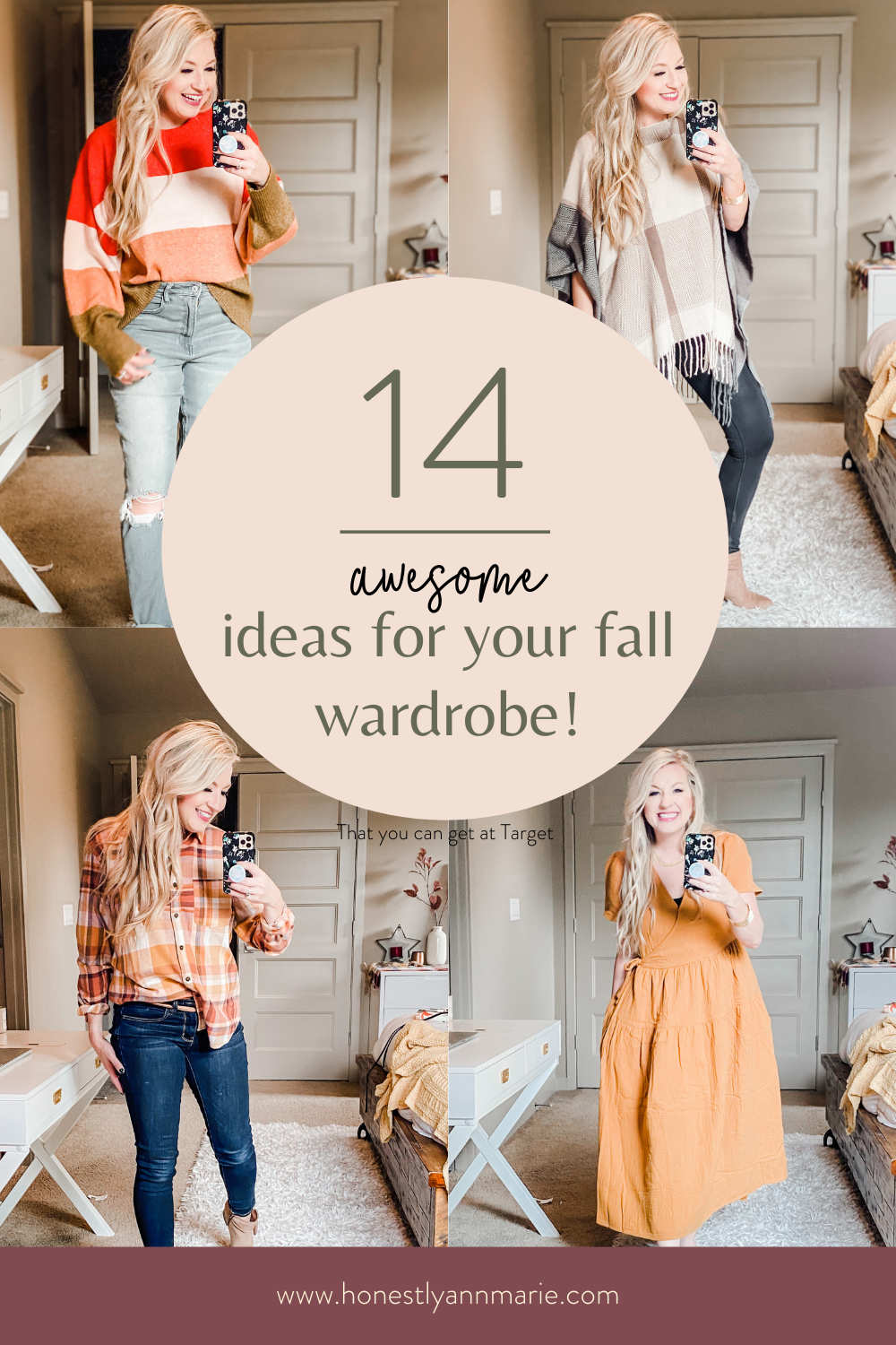 Fall is knocking at the door, my friend, and I, for one, am letting fall right on in. Here are all of my favorite Target fashion finds...perfect for updating your wardrobe for fall! fall fashion, fall style tips, fall sweaters, best fall fashion ideas, best fall style