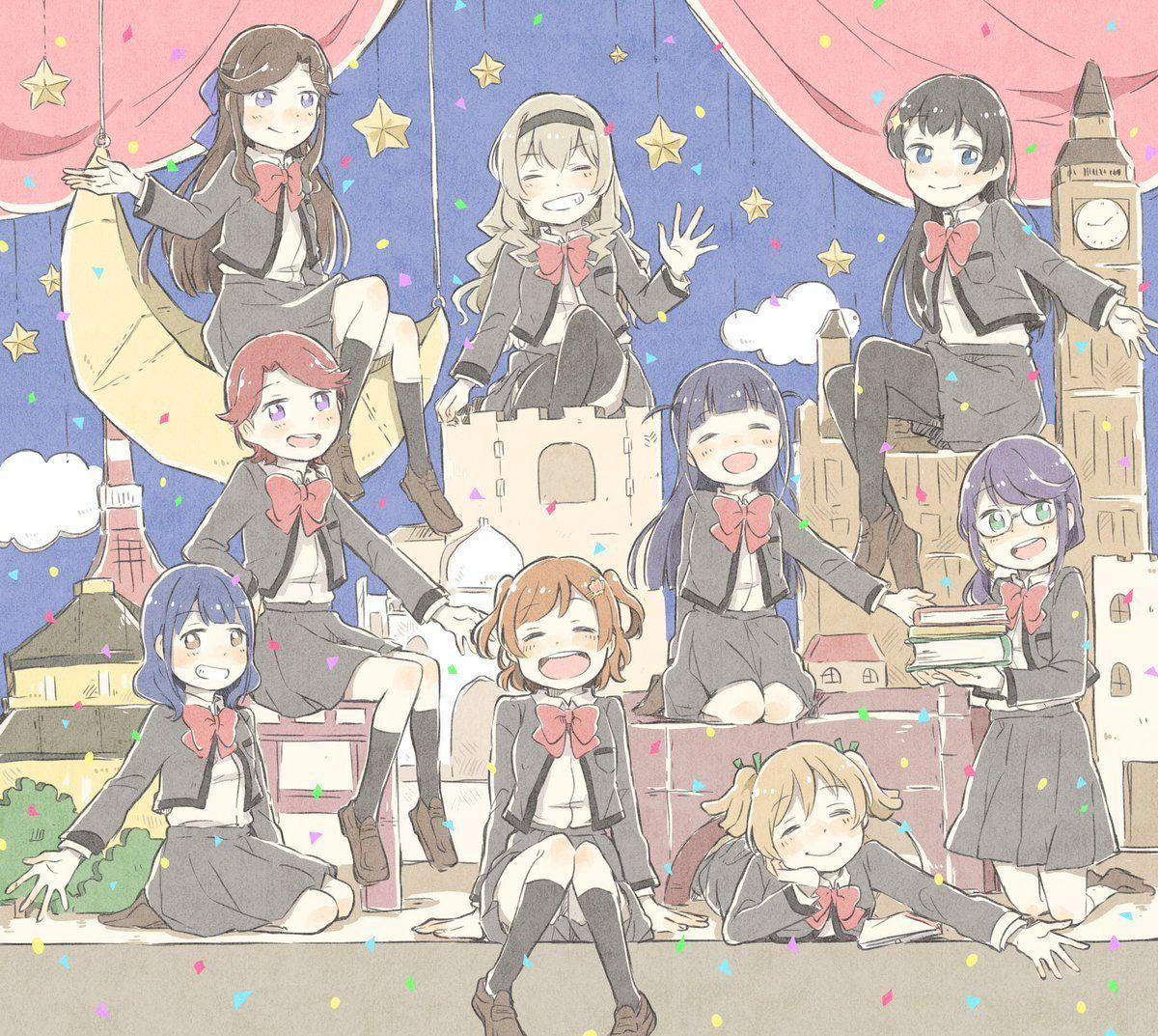 Black Cat World Starlight Yuri Anime Anime