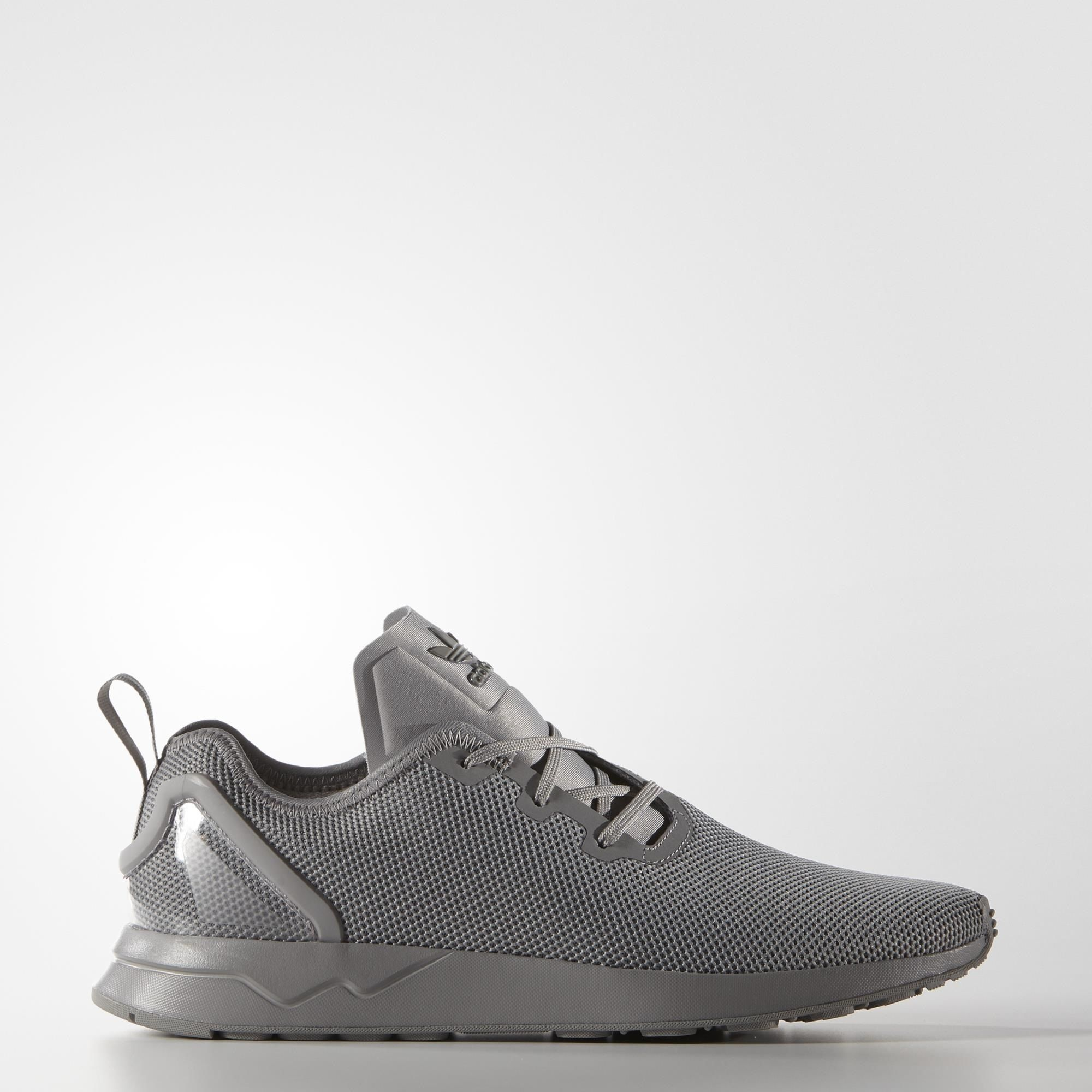 Adidas Men Asymmetrical ZX Flux Grey