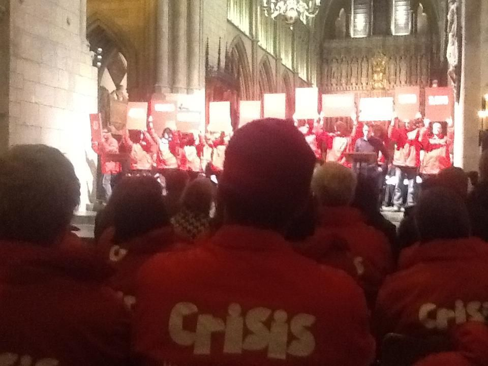 Crisis Annual Christmas Carol Service (40th Anniversary