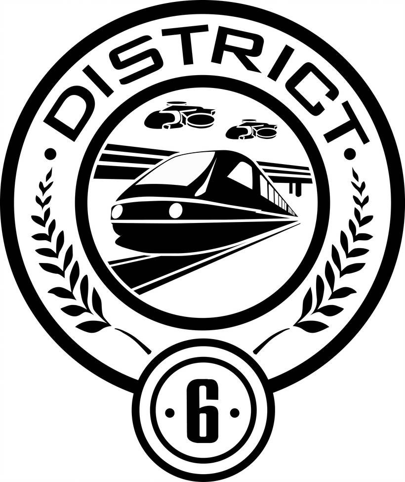 District 6 Seal By Trebory6 On Deviantart Hunger Games Logo Hunger Games Districts Hunger Games