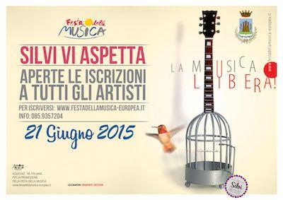 Festival della Musica Europea a Silvi: aperte le iscrizioni - Avvisi