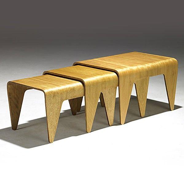 Wonderful Isokon Furniture U003e Nesting Tables  Designed By Marcel Breuer In