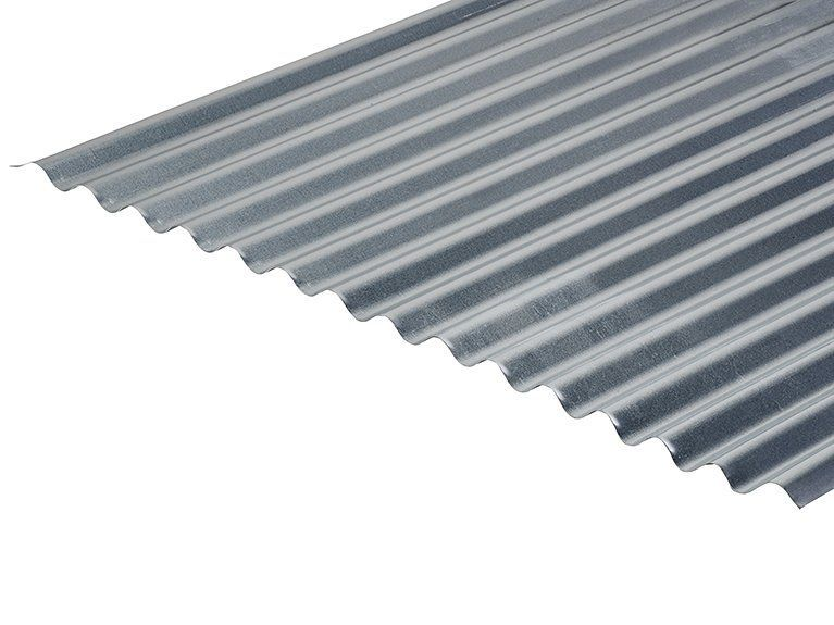 13 3 0 5 Thick Galvanised Roofing Sheets In 2020 Corrugated Roofing Roofing Sheets Roofing
